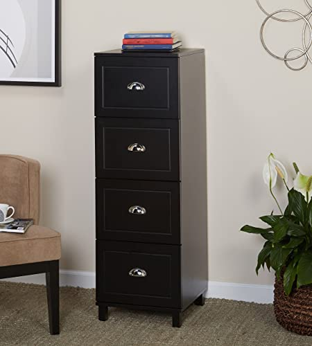 Target Marketing Systems Bradley Collection Modern 4 Drawer Filing Cabinet