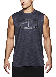 ae703e1023a21 TapouT Men s Muscle Tank Top - Sleeveless Workout   Training Activewear  Shirt