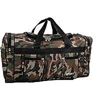 IWEA Reisetasche Sporttasche Freizeittasche Trainingstasche Weekender Handgepäck Tragetasche In Camouflage Army Design