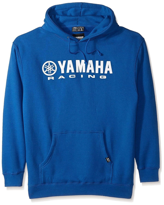 Factory Effex 12-88436 Yamaha Hooded Pull-over Sweatshirt Blue, XX-Large