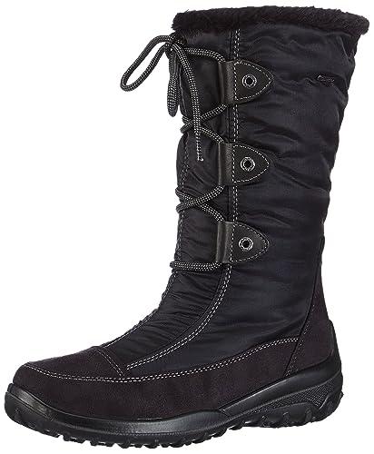 f44fe70f07a5 Gabor Shoes 96.738.67 Damen Warm gefütterte Schneestiefel, Schwarz (schwarz  (Webl.