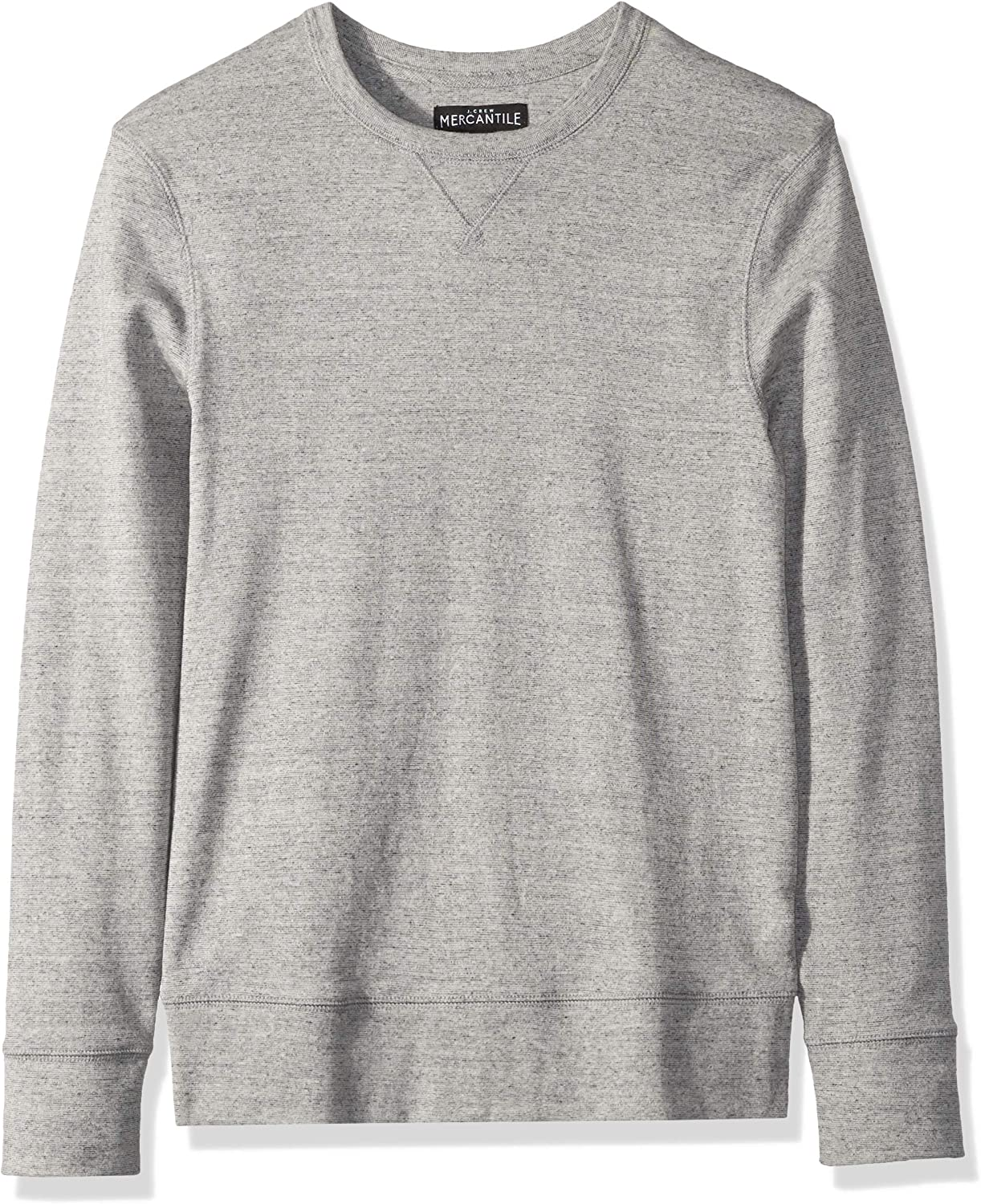 J.Crew Mercantile Mens Long-Sleeve Twisted Rib Crewneck T-Shirt