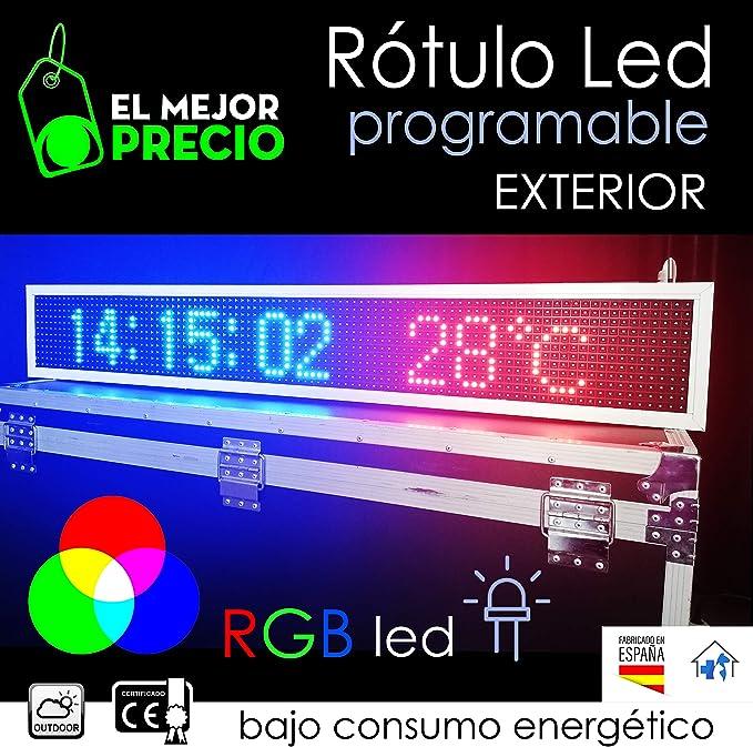 Rótulo electrónico led Programable para