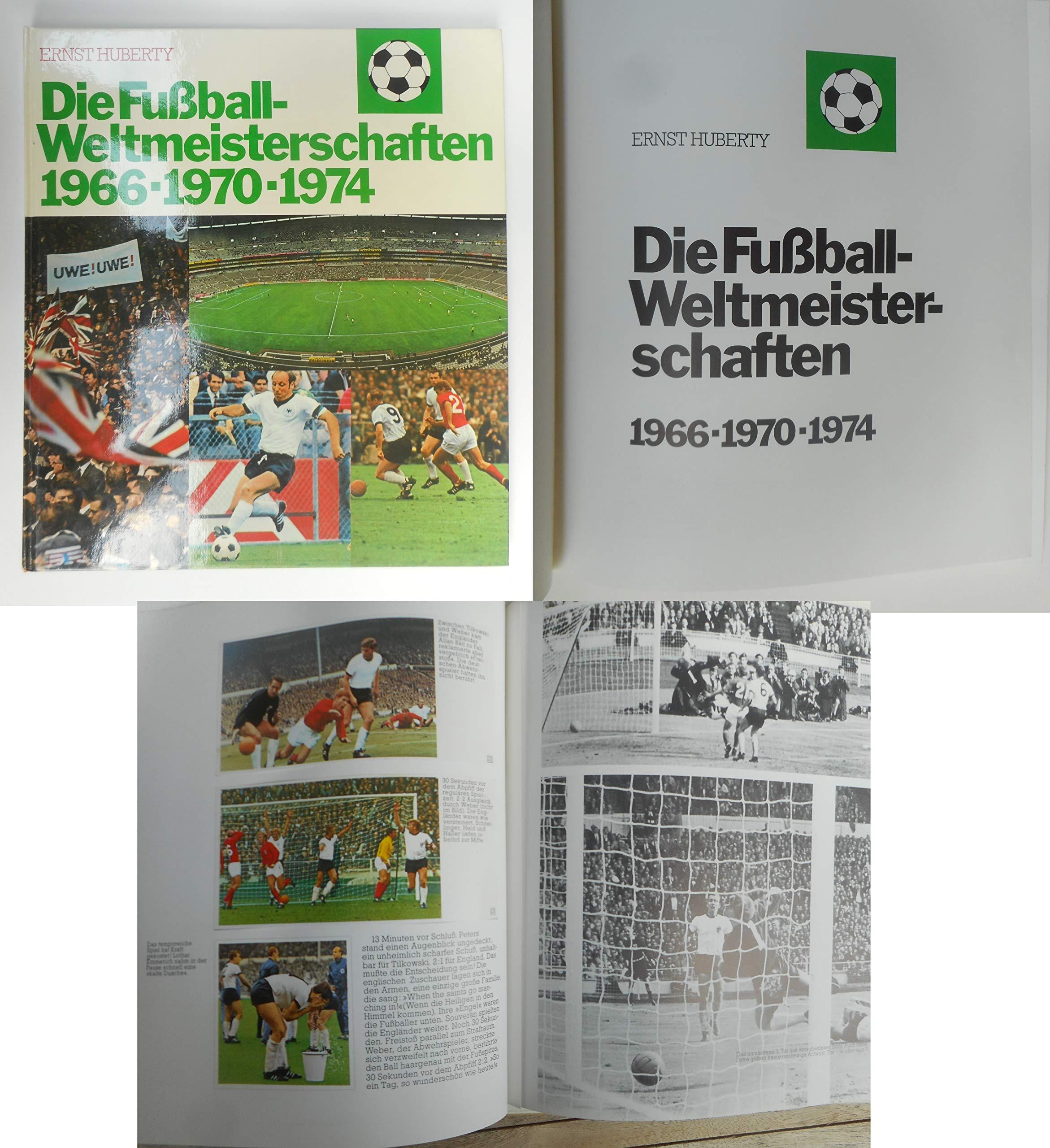Die Fußball-Weltmeisterschaften 1966, 1970, 1974. - Komplettes Klebebilderalbum