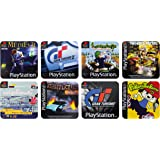 PlayStation Game Coasters, Papercard, Multi-Colour, 1 x 9 x 9 cm