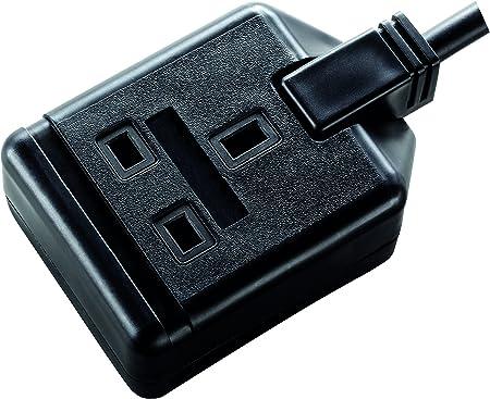 Lead Cable Master Plug 10 Metre Extension 13 Amp Mains Socket Single Gang