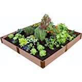 """Frame It All 1"""" Series 8' x 8' x 11"""" Composite Raised Garden Bed Kit"""