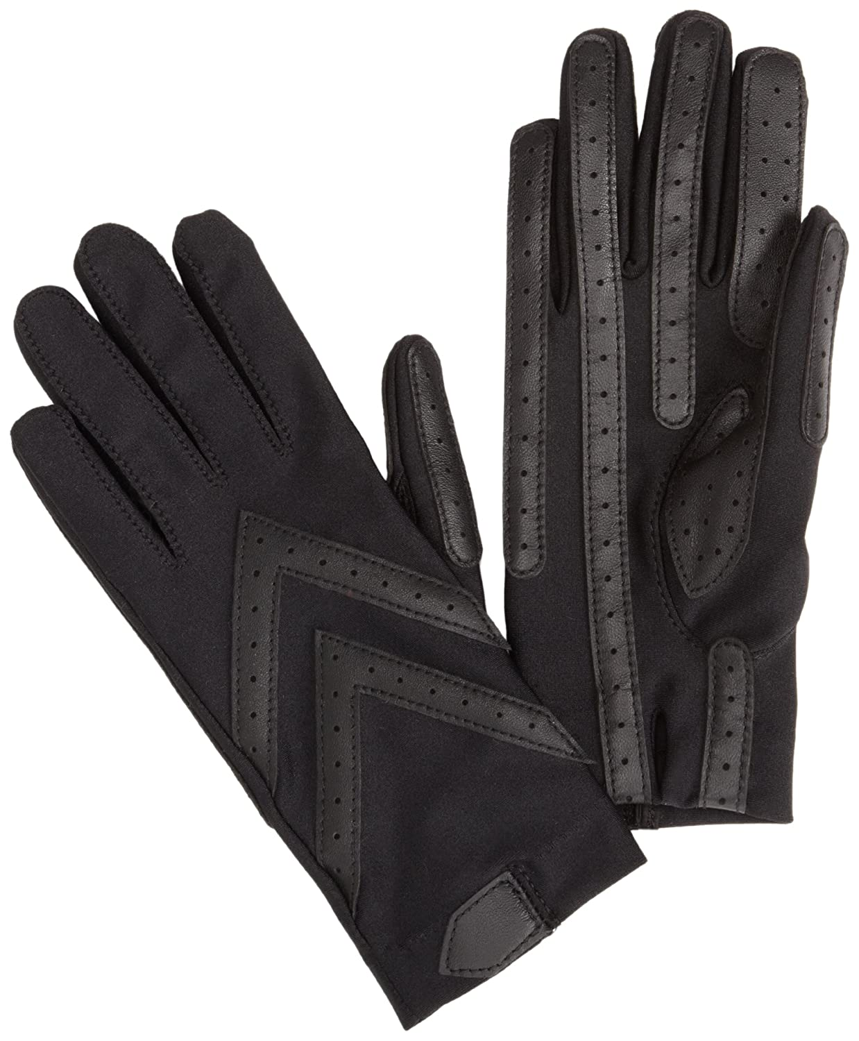 Driving gloves isotoner - Isotoner Women S Spandex Shortie Unlined Glove Black X Large At Amazon Women S Clothing Store Cold Weather Gloves