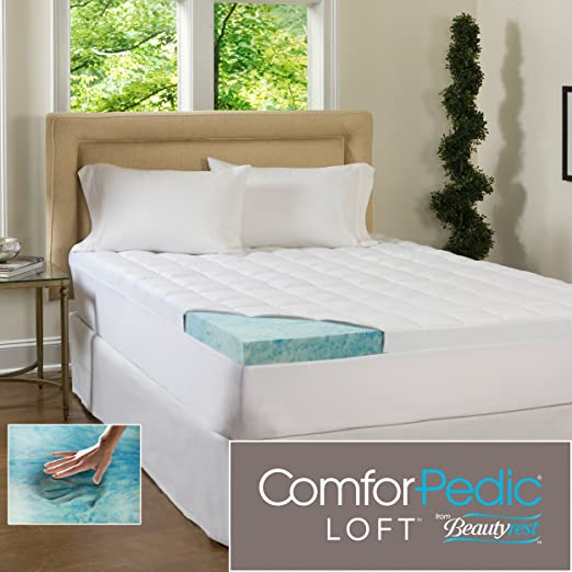 Amazon Com Comforpedic Loft Beautyrest 5 5 Inch Supreme Gel