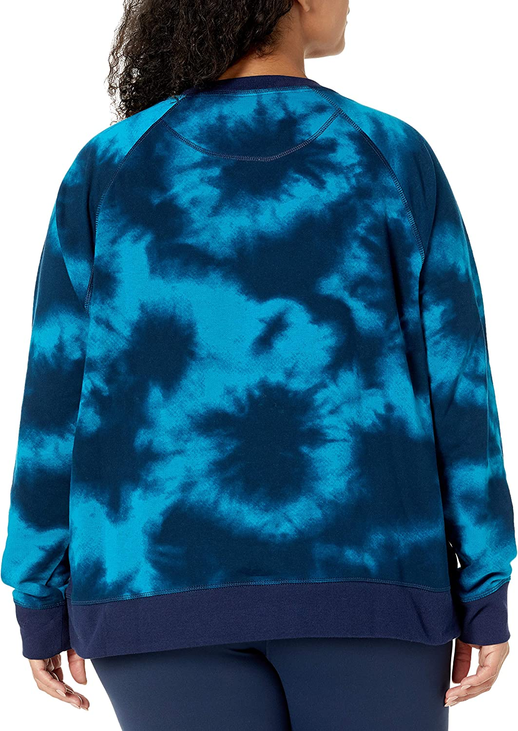 Champion Damen Campus Sweatshirt Cloud Burst Rockin Teal