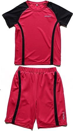 weishili conjunto deporte/fútbol niño: Short de Fútbol y camiseta de fútbol. Colores (azul, azul guède, Rosa) Rosa Rose: Amazon.es: Ropa y accesorios