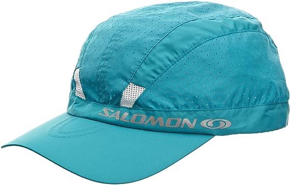 Salomon 1 Salomon - Gorra de senderismo y running, tamaño único, color bahía azul: Amazon.es: Ropa y accesorios