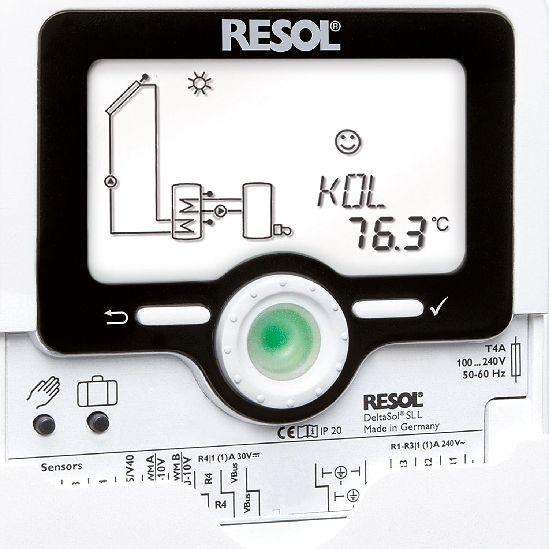 RESOL 11543160 Regelung Deltasol SLL Komplett-Set