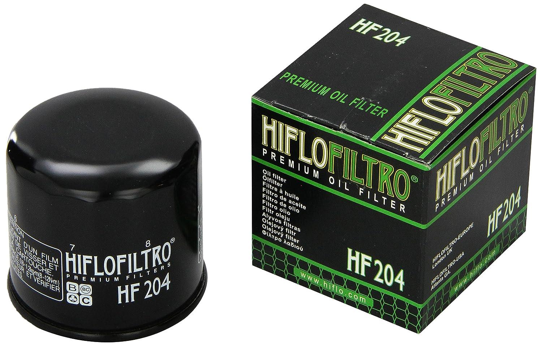 Hiflofiltro HF204 HF204 Black Premium Oil Filter 824225110425