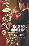 Billionaire Boss, Holiday Baby (Billionaires and Babies)