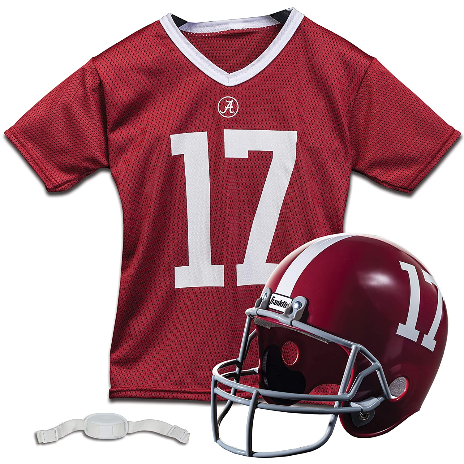 (Alabama Crimson Tide) - Franklin Sports NCAA Alabama Crimson Tide Helmet and Jersey Set   B003XQP60C