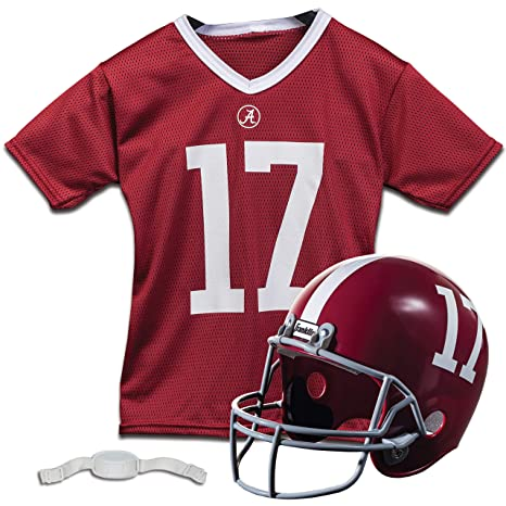 a3d9edd24 Franklin Sports NCAA Team Licensed Youth Football Helmet Jersey Set