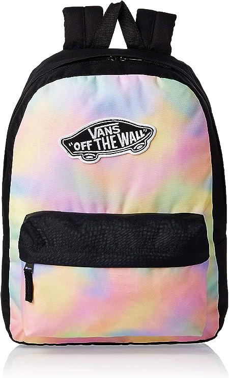 Vans Realm Backpack Casual Daypack, REALM Rucksack, VN0A3UI6V1F1, Mehrfarbig, VN0A3UI6V1F1
