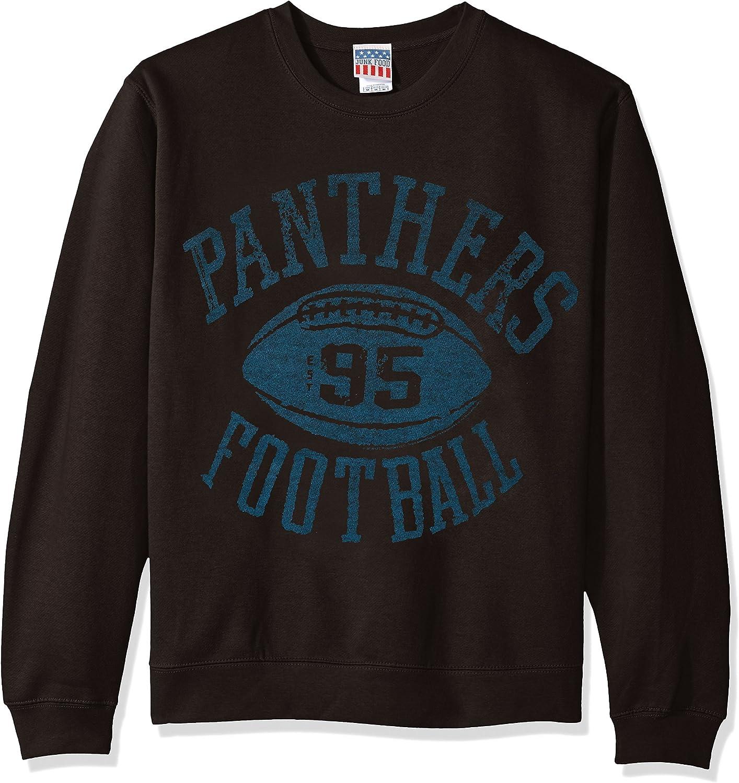Junk Food NFL Men's Fleece Crew Sweatshirt