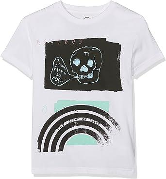Volcom Joven Bud Basic Blanco Camiseta para niños: Amazon.es: Ropa y accesorios
