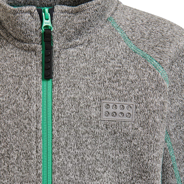 LEGO Wear Kids /& Baby Full Zip Fleece Cardigan With Flatlock Stitching