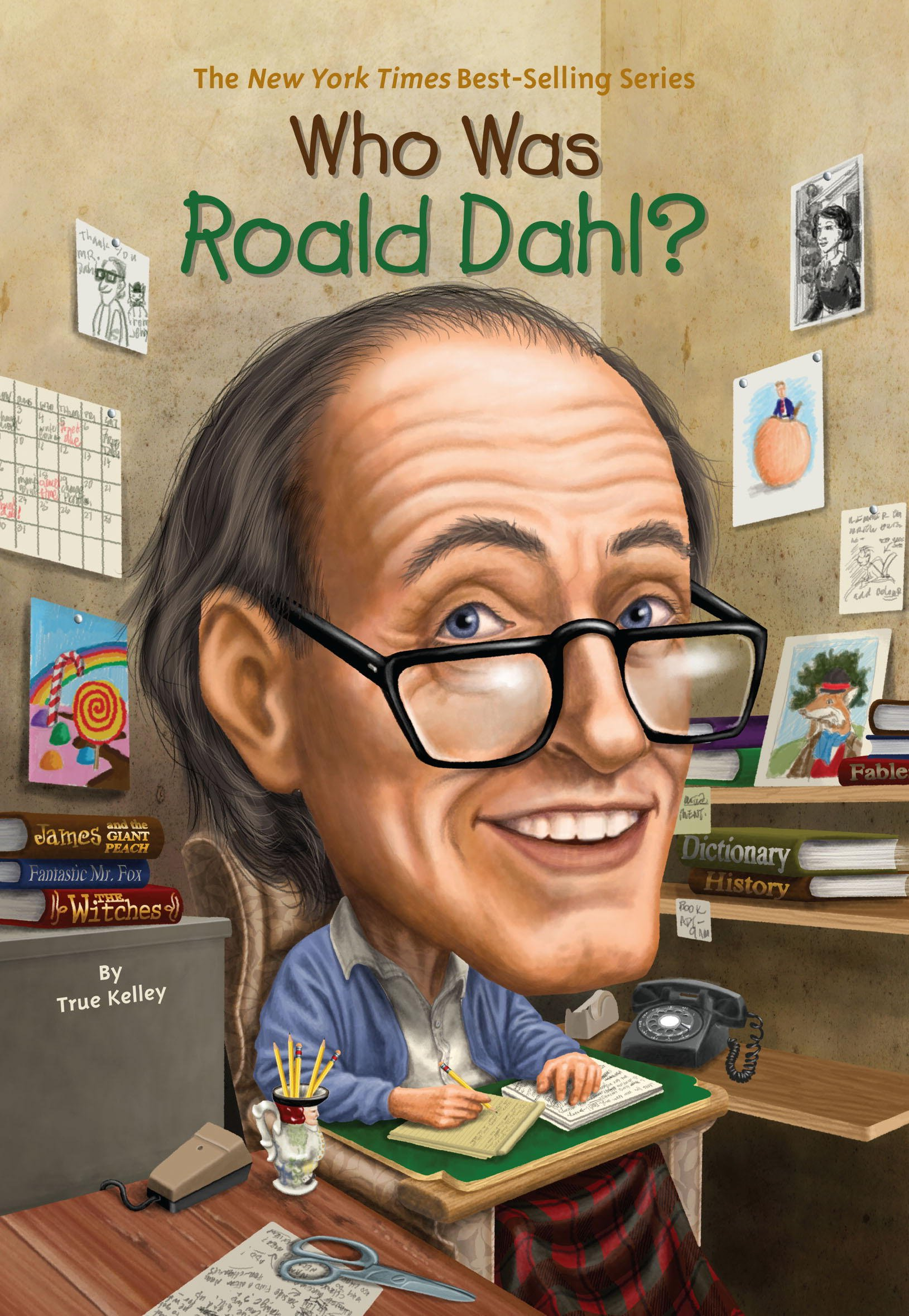 Who Was Roald Dahl? (Who Was?) (English Edition)