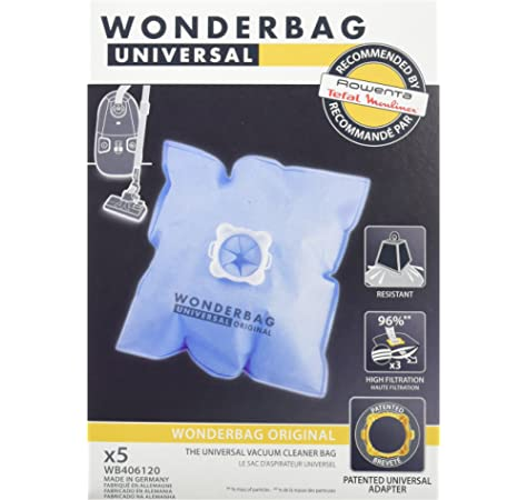 10 Bolsas para aspiradora Rowenta, Alternativo para WonderMedia rbag Endura wb484720/Wonderbook rbag Compact wb3051 de MicroSafe® 10 Bolsas de Basura: Amazon.es: Hogar