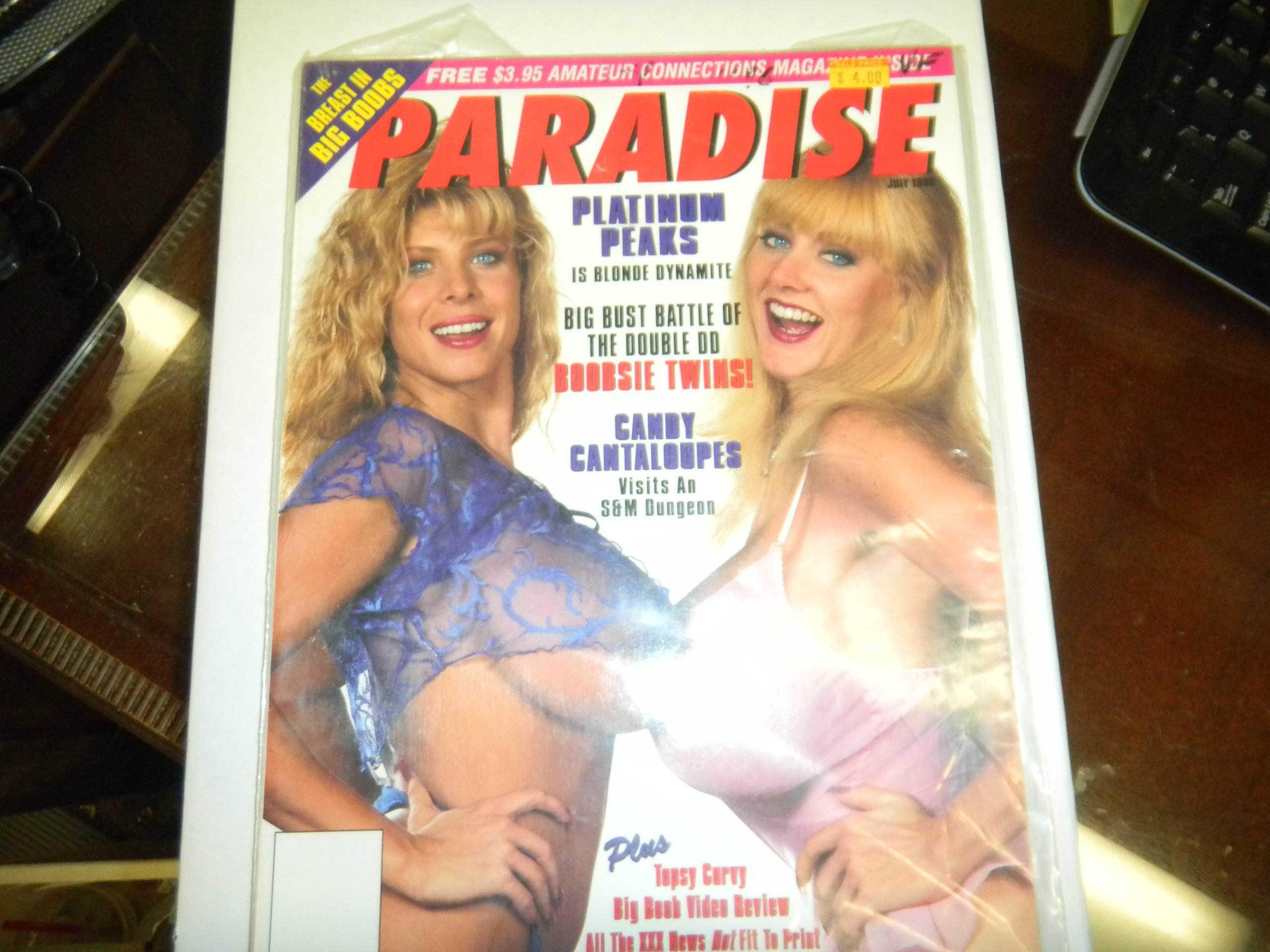 Paradise Adult Magazine Kayla Kleevage Candy Cantelopes 1996 Paradise Amazon Com Books