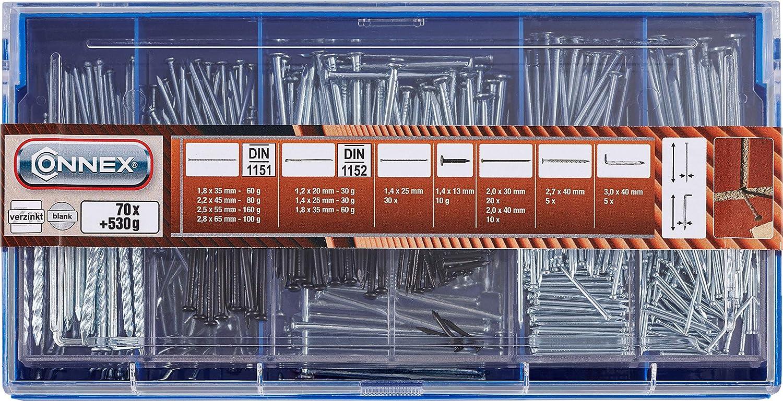 Connex DP8500010 Clavo de acabado tama/ño: 70-Piece, pack de 70
