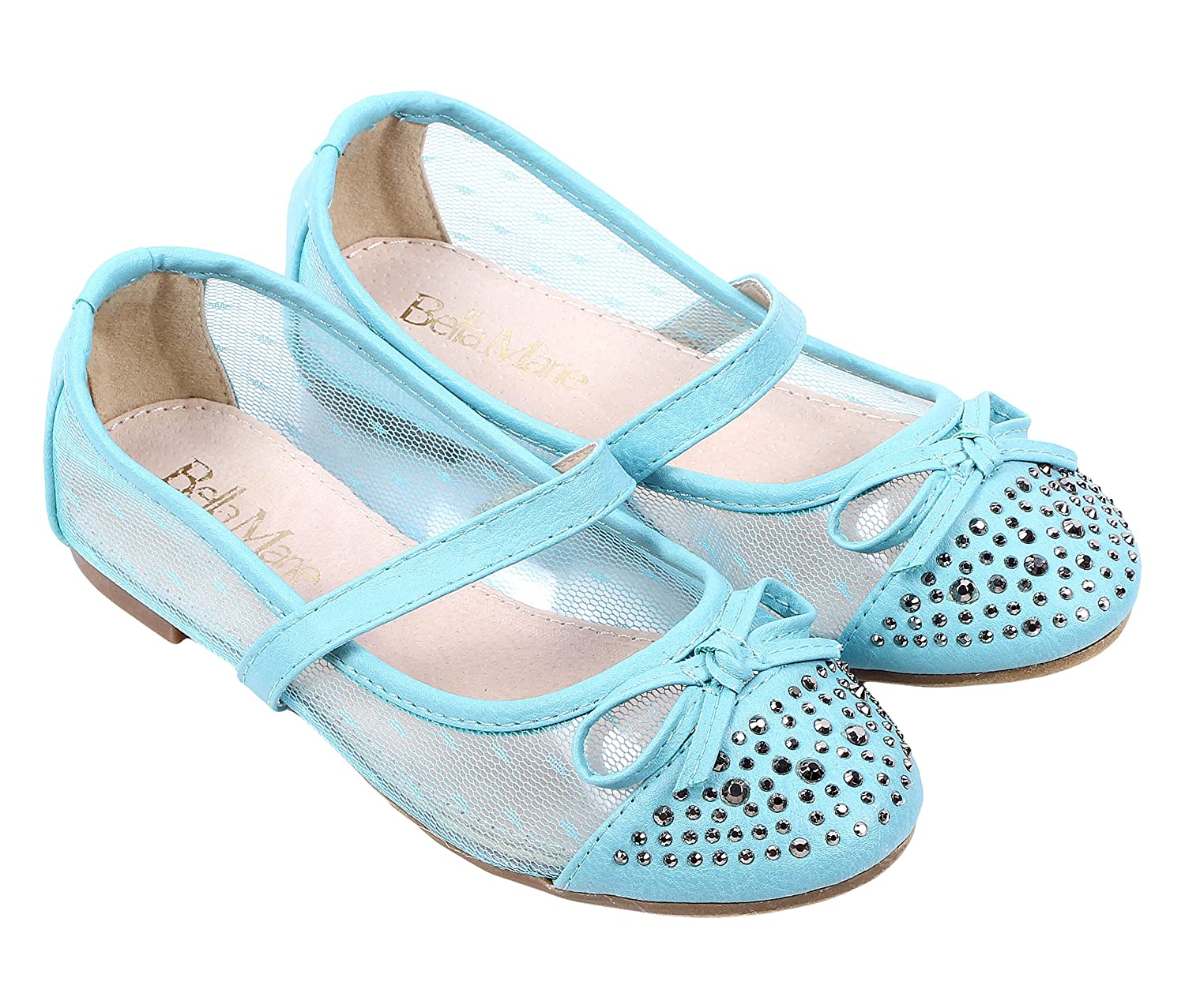 Other Fashion Cute Slip on Kids Dressy Bowknot Strap Girls Youth Casual Flats Shoes New Without Box