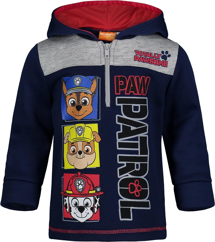Paw Patrol Boys Fleece Half-Zip Pullover Hoodie