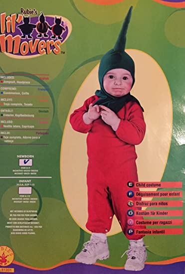 Amazon.com: Lil Chilpepper Baby Costume 0-9 Months Chili ...