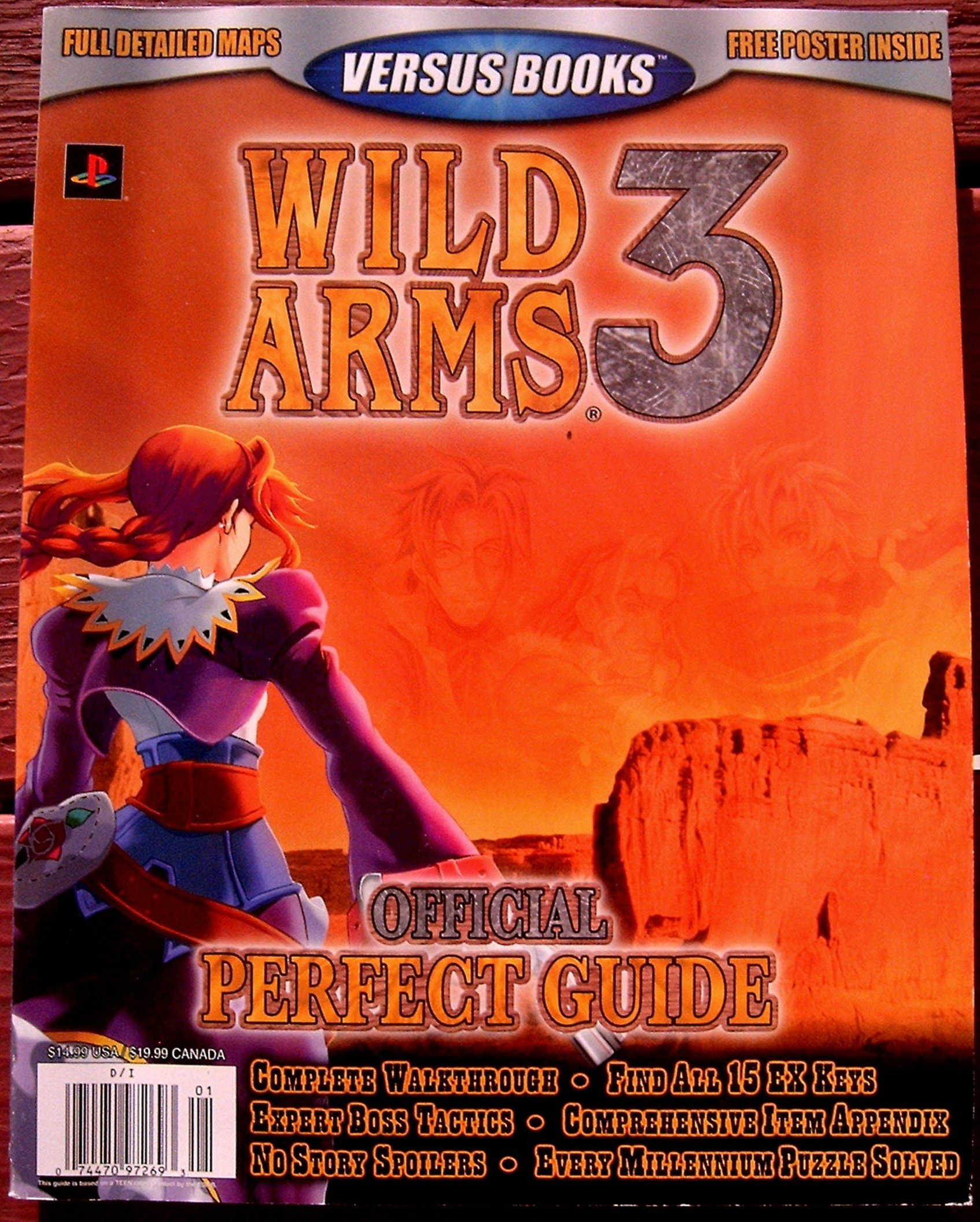 Download Versus Books Official Perfect Guide for Wild Arms 3 PDF