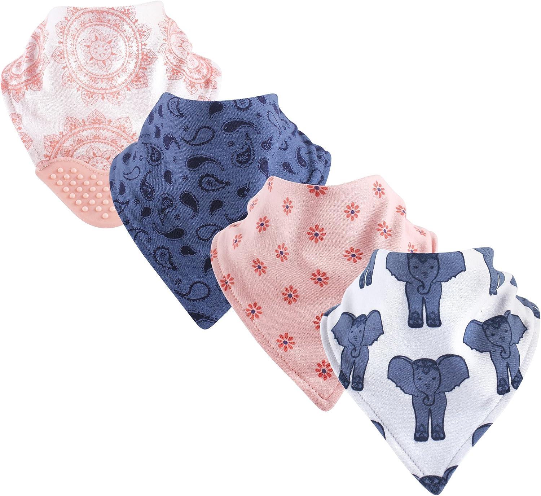 Yoga Sprout Unisex Baby Cotton Bandana Bibs