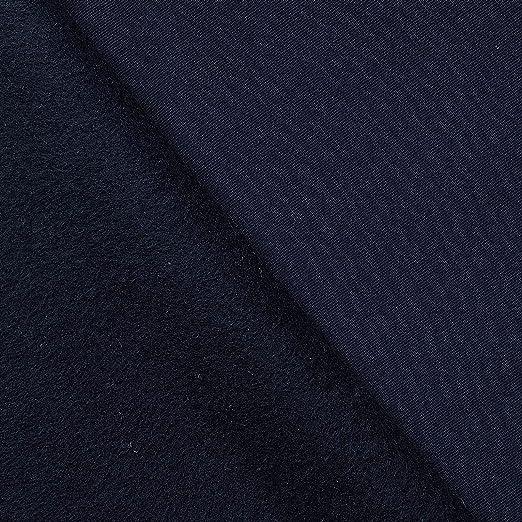 Tela de algodón elástica - 95% algodón 5% elastano - 9 colores - Por metro (azul marino): Amazon.es: Hogar