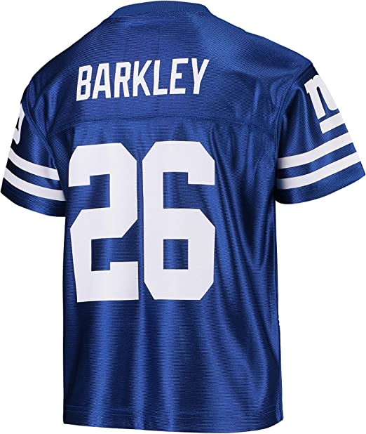 Outerstuff Daniel Jones New York Giants #8 Youth 8-20 Blue Home Player Jersey