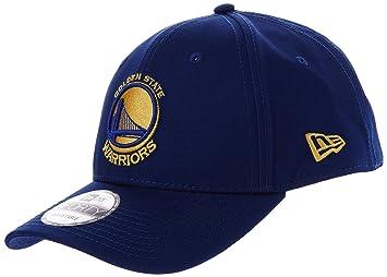 e1dfd61698e691 New Era Men's Nba Team 9Forty Golden State Warriors Offical Team Colour  Baseball Cap, Blue