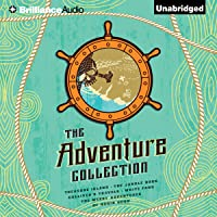 The Adventure Collection: Treasure Island, The Jungle Book, Gulliver's Travels, White Fang, The Merry Adventures of Robin