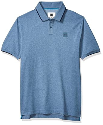 Under Armour The Ace Polo, Thunder (407)/Academy, Extra-Large para ...