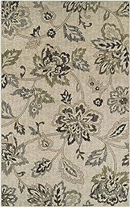 SUPERIOR Jacobean Area Rug Collection 4X6