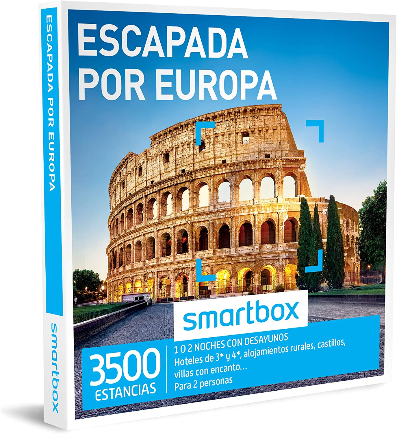 Smartbox - Caja Regalo - ESCAPADA por Europa - 3500 estancias en ...