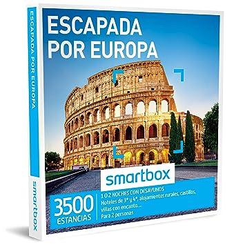 Smartbox - Caja Regalo - ESCAPADA por Europa - 3500 estancias en hoteles de 3* y 4*, alojamientos Rurales y Villas en Europa: Amazon.es: Deportes y aire ...