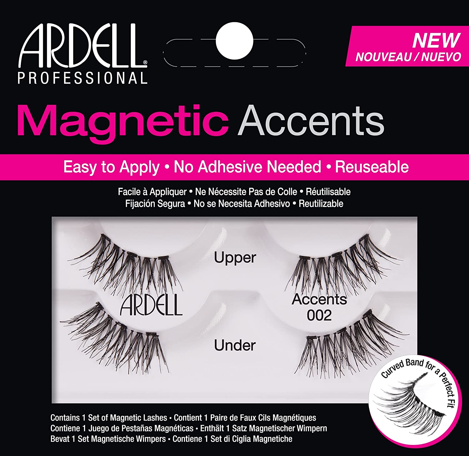Ardell Magnetic Lashes Natural Accents 002 AII67954