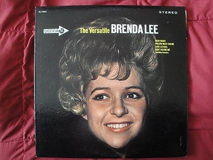 Brenda Lee - Brenda Lee - The Versatile Brenda Lee - Lp Vinyl Record - Amazon.com Music