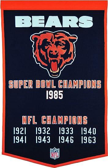 NFL Chicago Bears Heritage Banner
