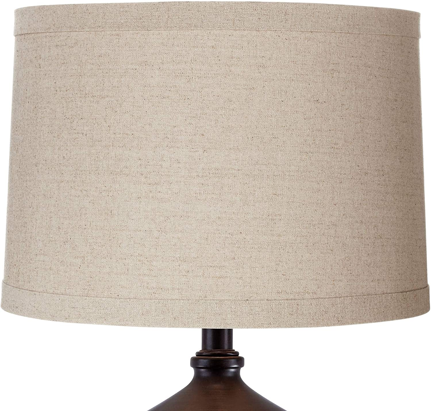 Springcrest Natural Linen Drum Shade 15x16x11 Spider Springcrest Linen Lamp Shade Amazon Com