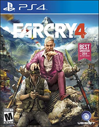 Amazon Com Far Cry 4 Playstation 4 Video Games
