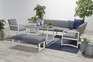 Garden Impressions - Conjunto de muebles de jardín: Amazon.es: Jardín