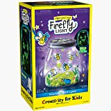 Creativity for Kids Make Your Own Firefly Light Craft Kit - Build a Play and Pretend Shrink Fun Indoor Lightning Bug Jar…