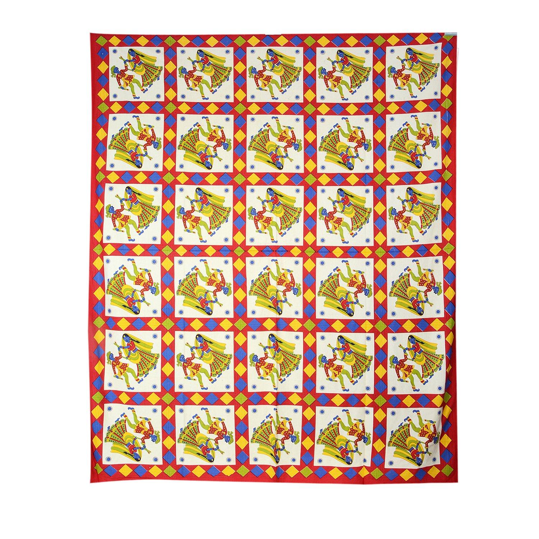 TRADITIONAL MAFIA RSES777164 Single Bed Sheet, 90'' x 108'', Multicolor